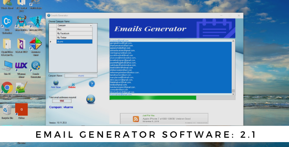 Email Generator Software That Can Search Real Emails