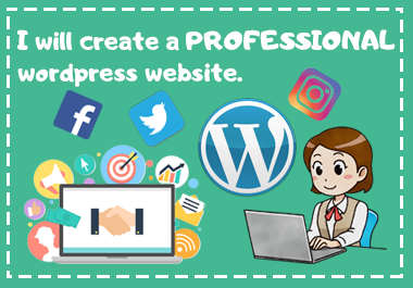 I Will Create An Amazing Professional WordPress Website