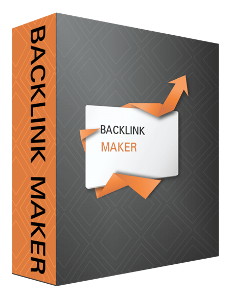Backlink Maker Creates backlinks to your site automatically,  plus pinger. Get backlinks in high PR.