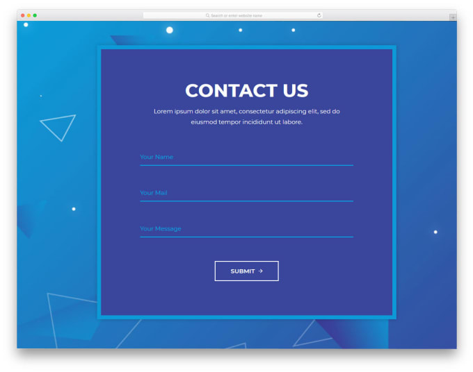 I will create register, login and contact us form page in php