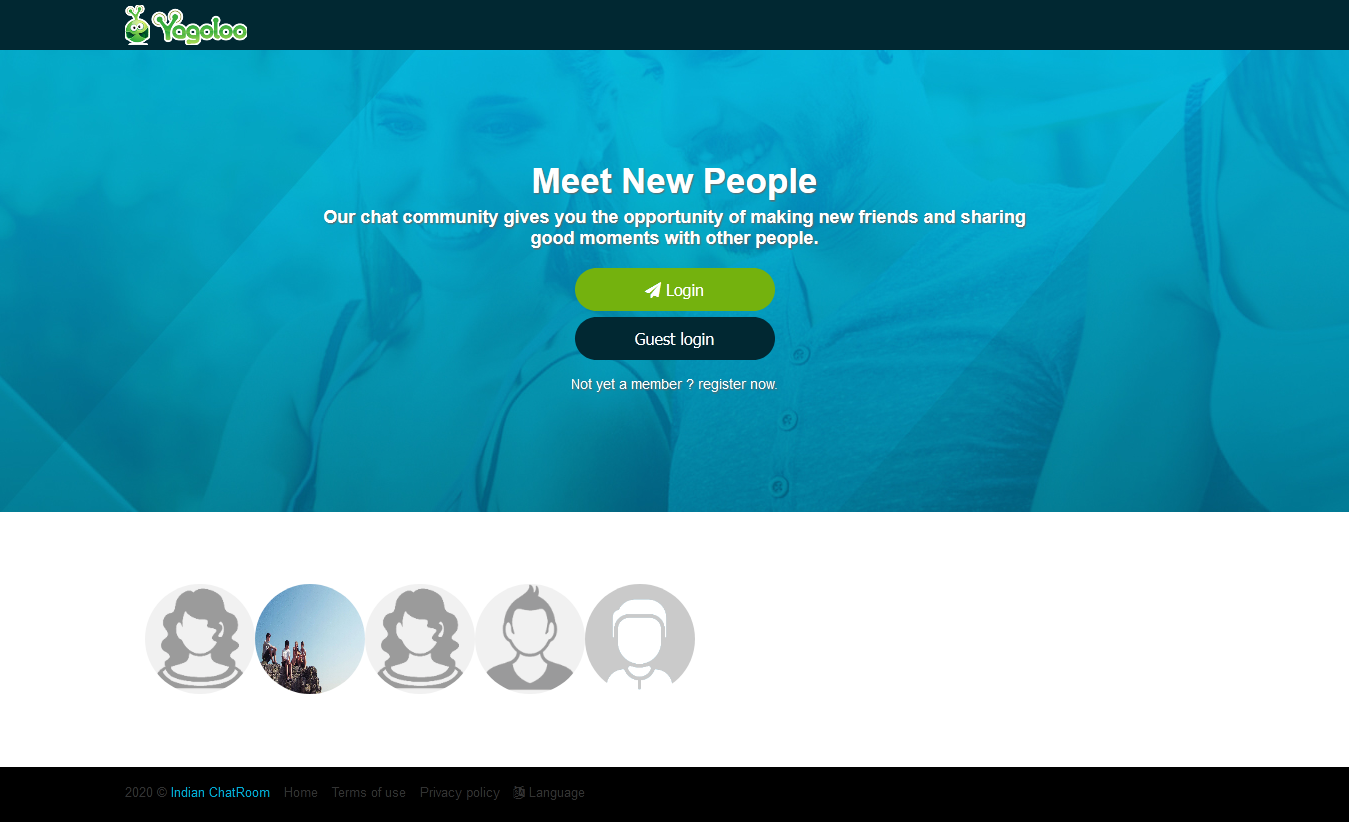 Php dating website with chat room list