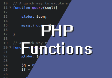 Useful PHP Functions That Can Be Used In Any Project
