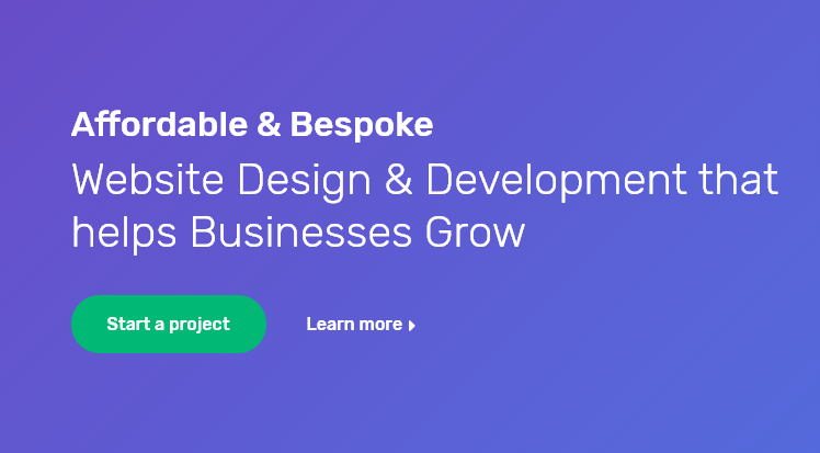 I will create a bespoke and responsive website