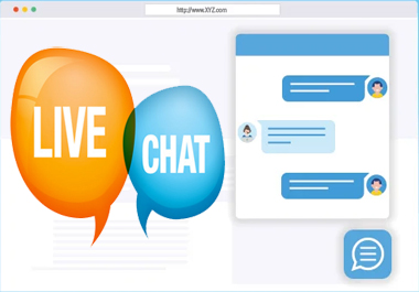 I will add live chat in your website