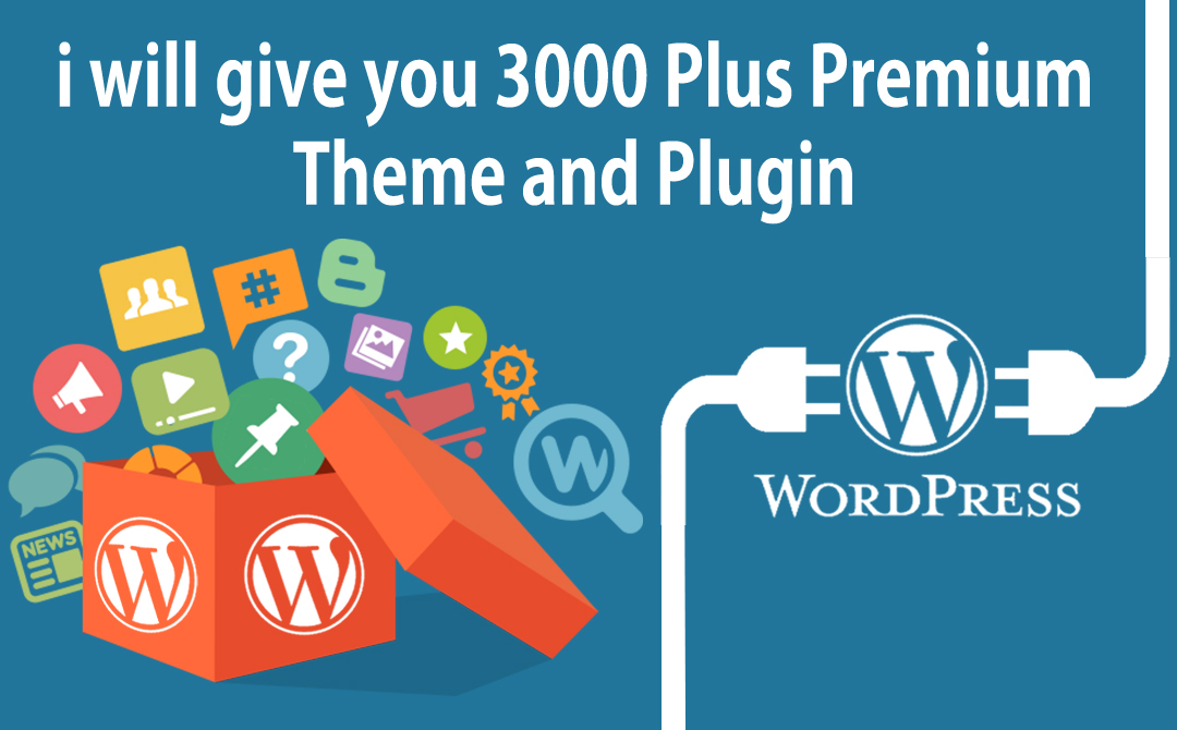 i will give you 3000 Plus Premium Theme and Plugin