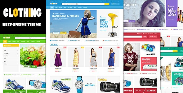 CLOTHING - Responsive Multipurpose HTML5 Template
