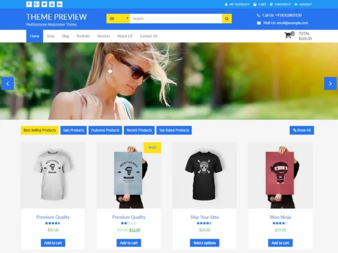 I will develop a professional eCommerce WordPress site