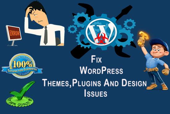 I will fix wordpress, php errors, issues and customization