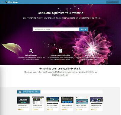 SEO Analysis Tool & Audit Report Website Script