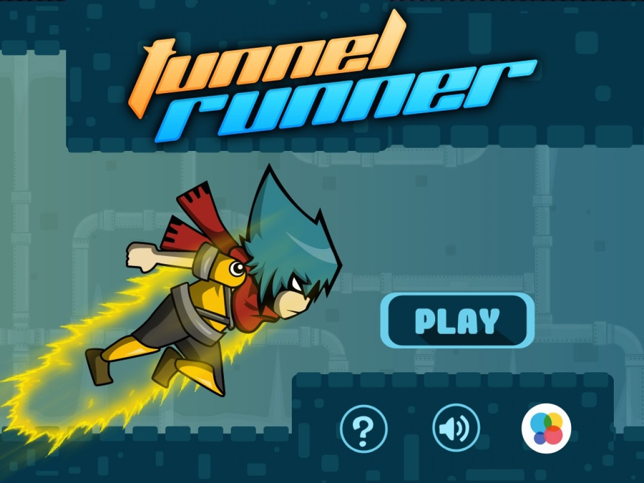 Tunnel Runner Cocos2Dx Game Template