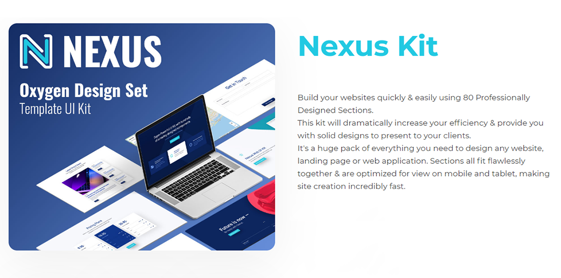 Install Nexus Kit Plugin for Oxygen Builder with Official License Lifetime