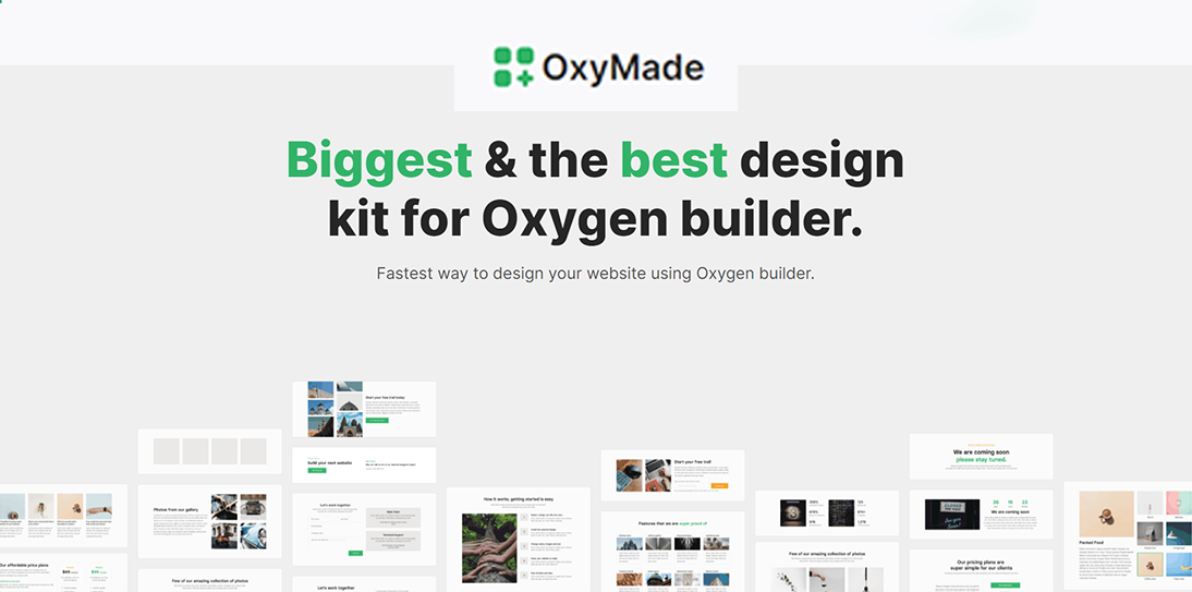 Install OxyMade Plugin for Oxygen Builder with Official License Lifetime