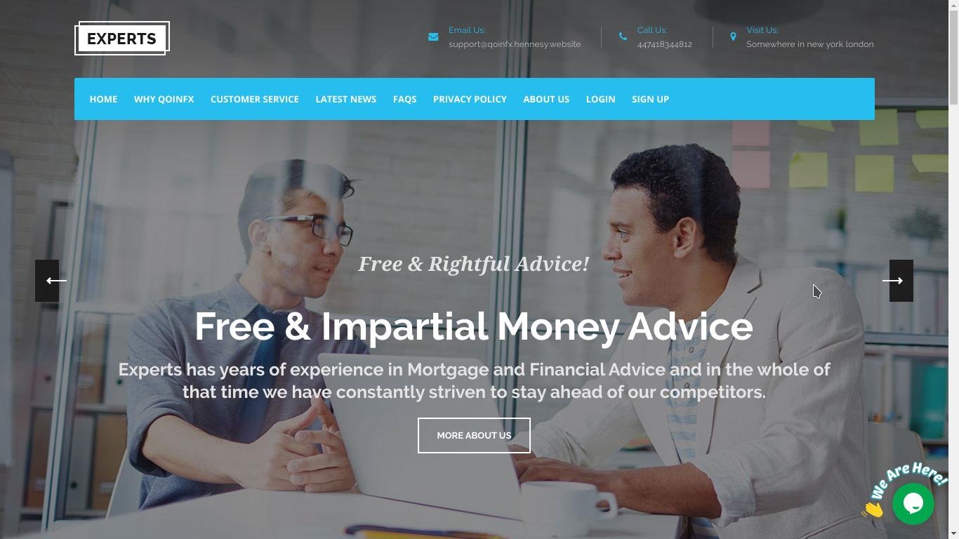 Qoinfx - Online Investment PHP Script