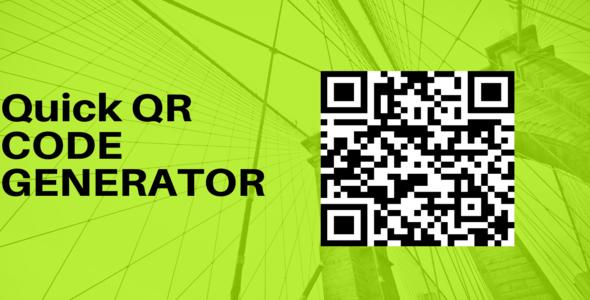 Quick QR Code Generator In PHP & Mysql