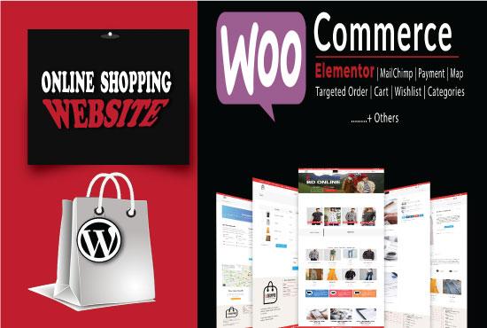 create a WordPress Ecommerce multi vendor Website using Woo Commerce