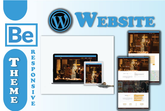 Design An Eye Catchy WordPress Website with Be Theme