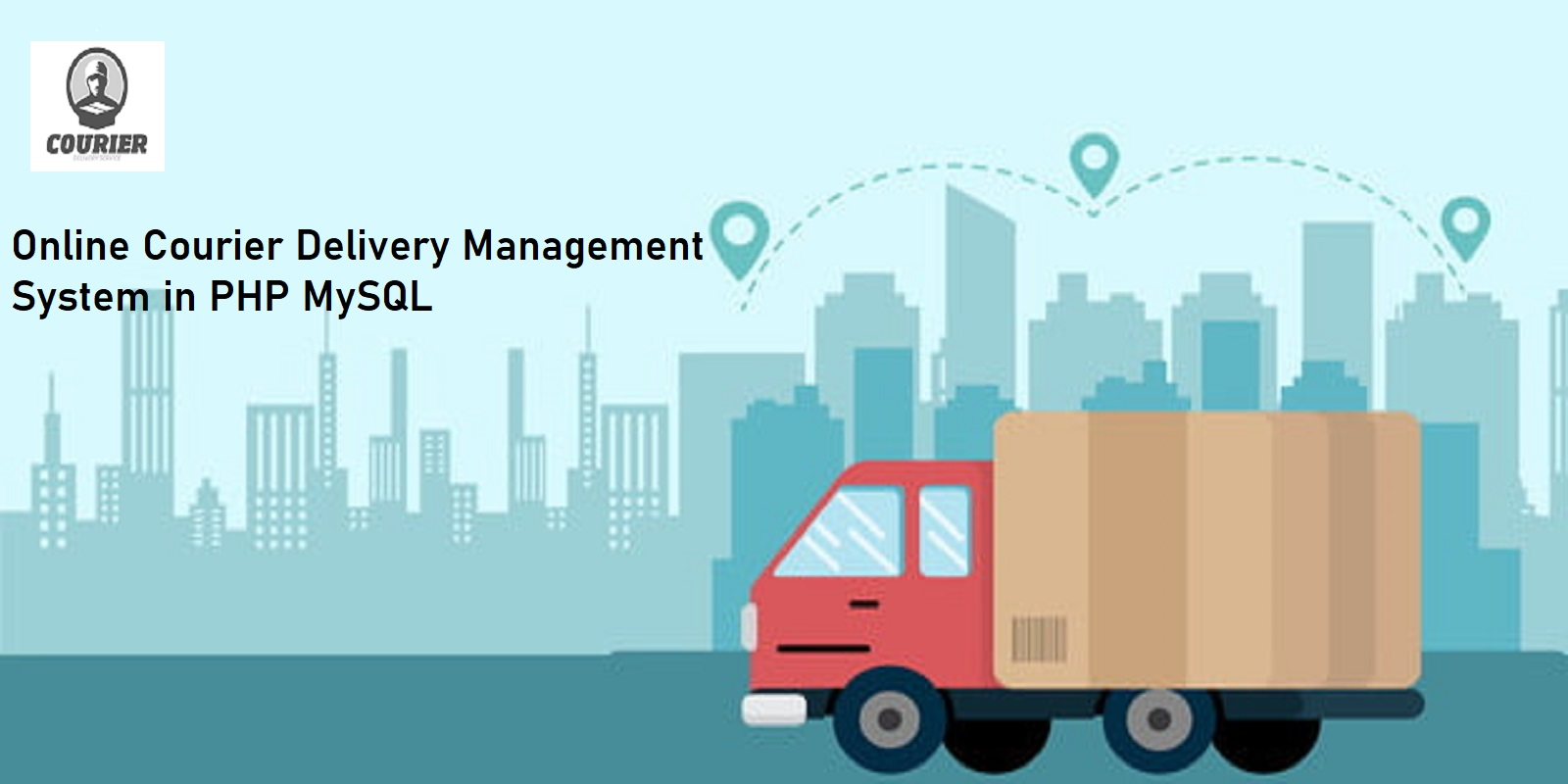 Online Courier Delivery Management System in PHP MySQL