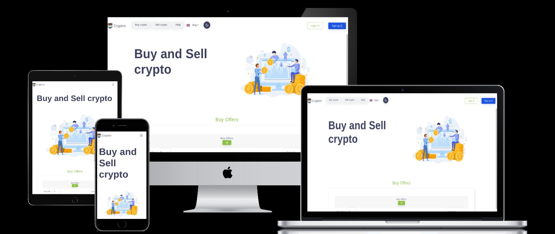 Crypton, P2p cryptocurrency Exchange