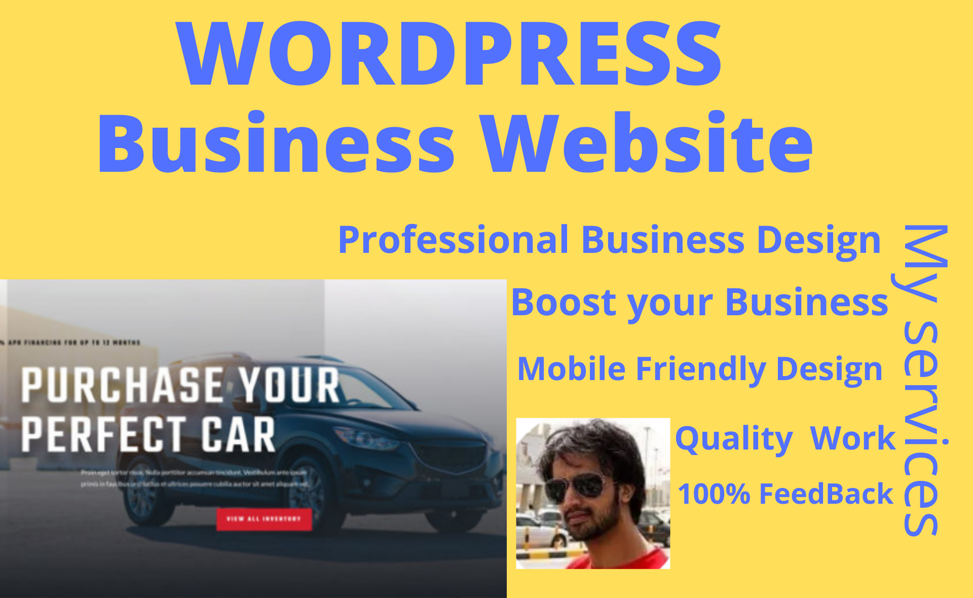 I will create a Professional Business Website in Wordpress