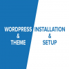 Install WordPress,  Setup Theme,  Setup Plugins And Basic SEO Settings