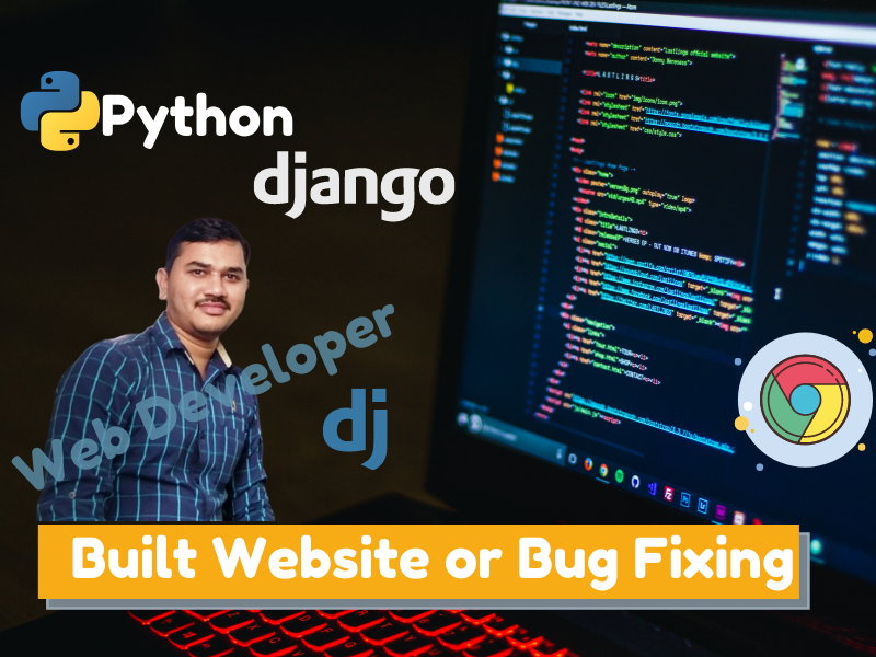 Python Django Built Website or Bug Fixing