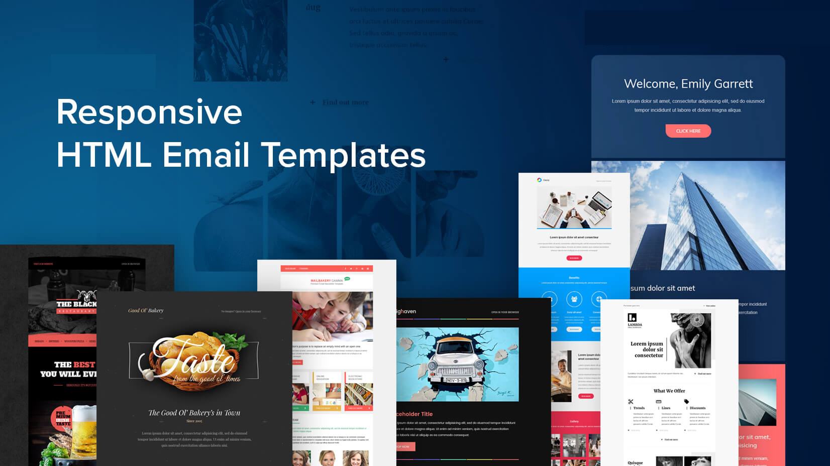 design html email template for you