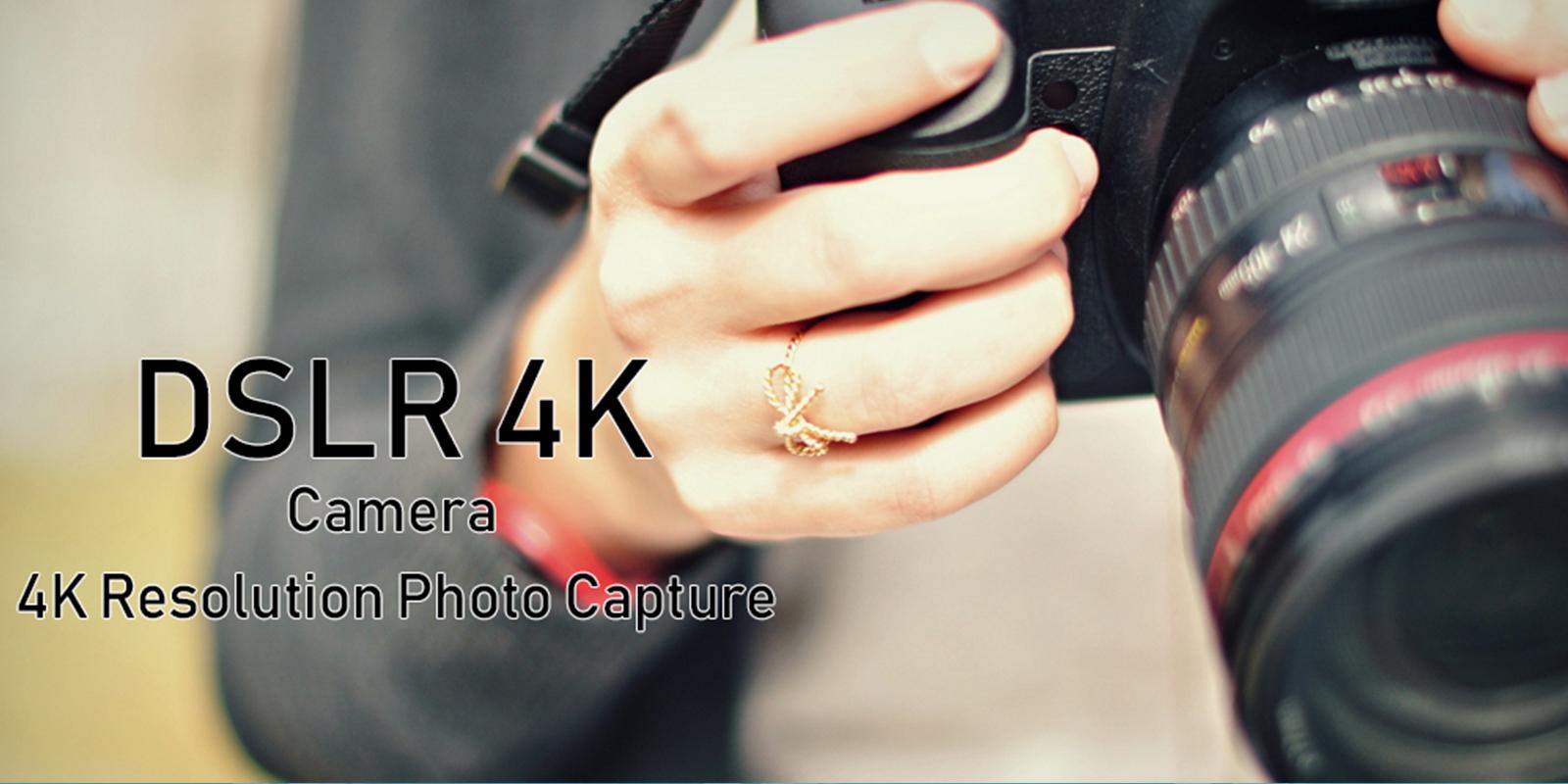 DSLR HD Camera 4K HD Ultra Camera Android Application Source Code