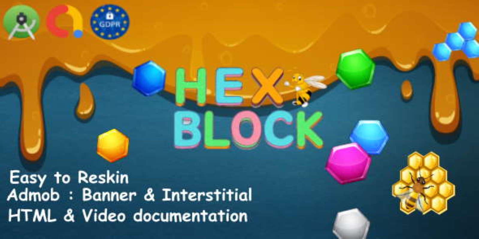 Hex Puzzle Admob Android Studio GDPR