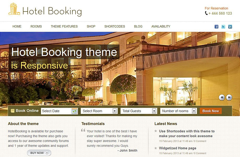 I will make Any booking wordpress website