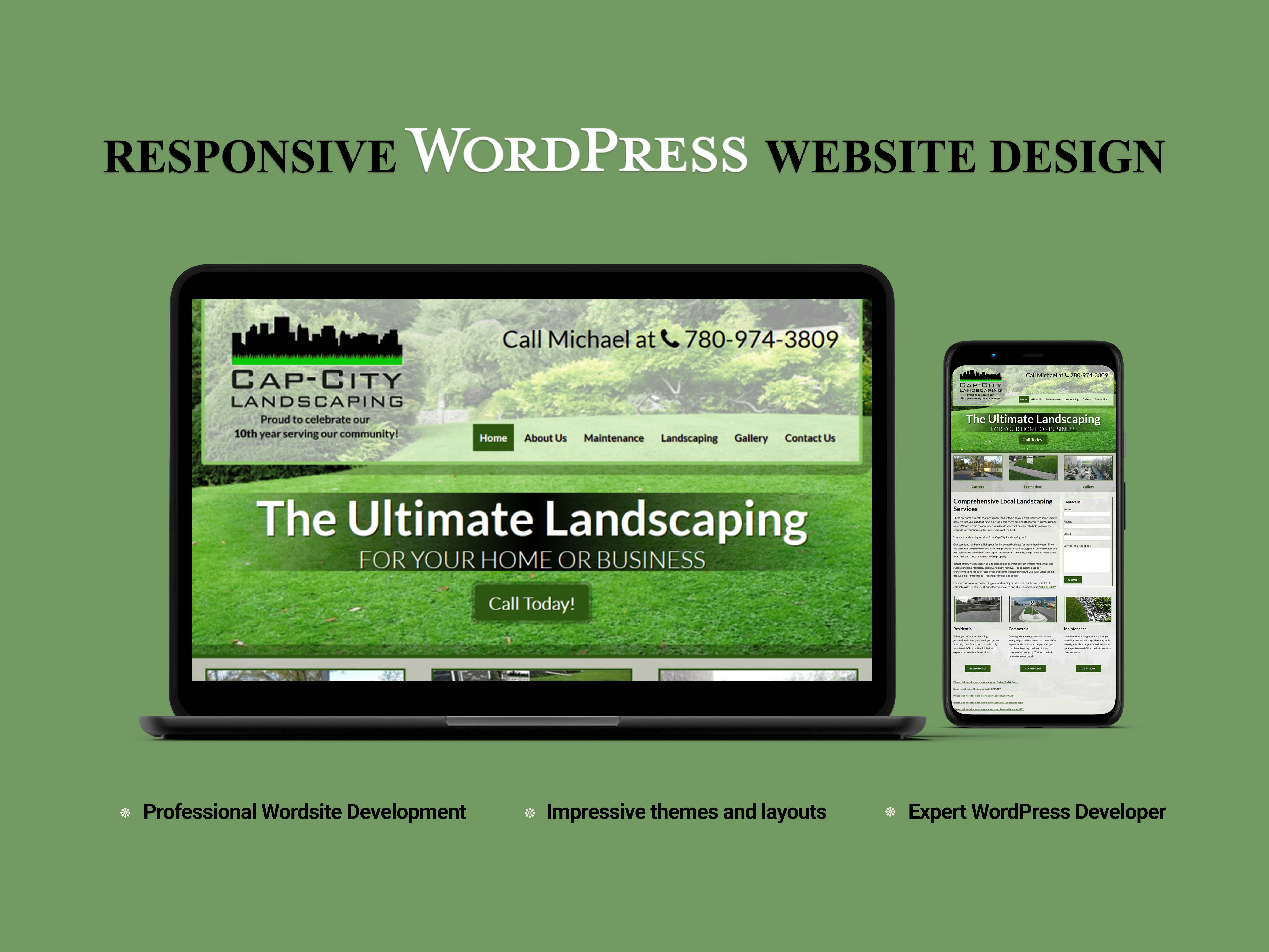 I will Design and Clone WordPress Website With Avada Theme
