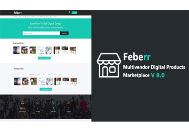 I Will feberr multivendor digital products marketplace