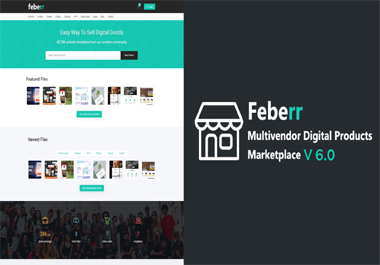 I Will Create for you a digital products marketplace