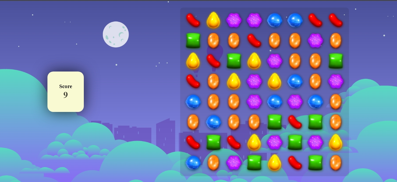 Candy Crush Game with Javascript