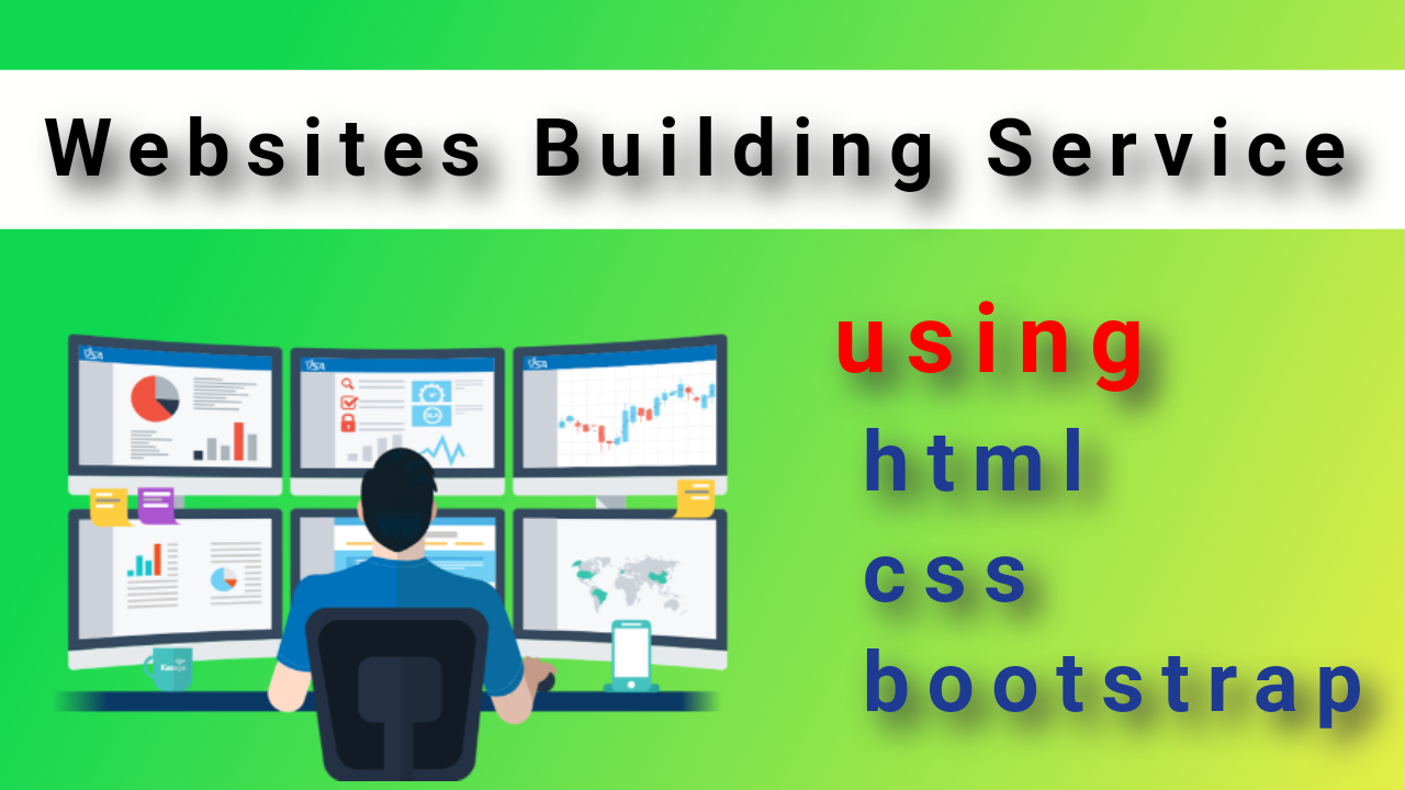 Website Designing and Building Service