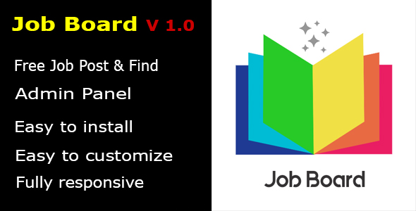 Job Board PHP Script with Admin Panel.