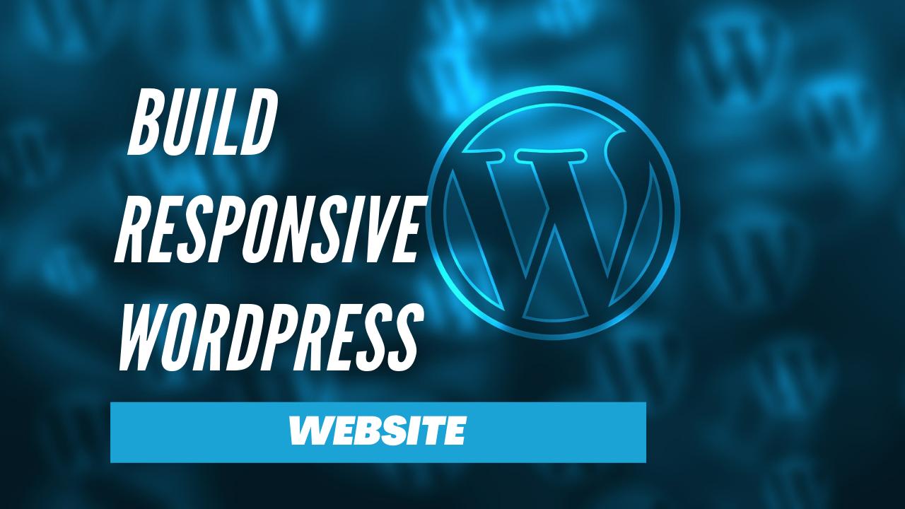 I will create your custom wordpress website