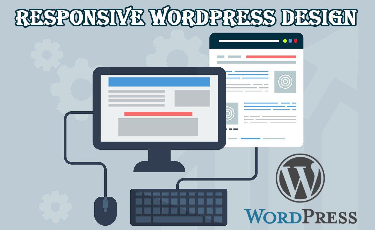 Responsive WordPress Website Design with Optimization