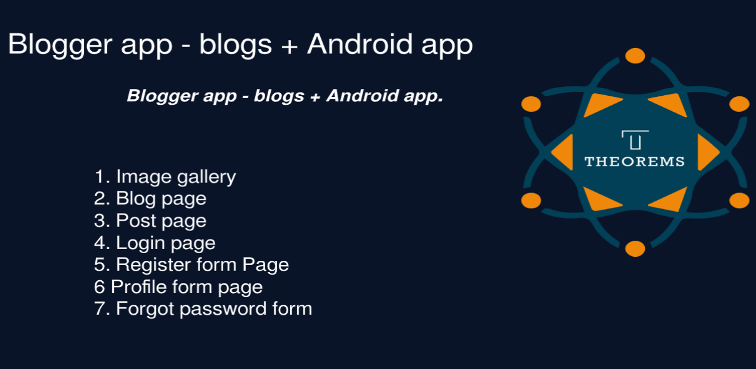 Blogger app - blogs + Android app