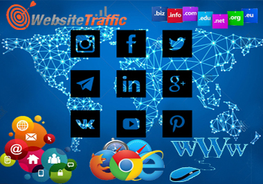 WEB TRAFFIC 7,000+ High Quality USA Traffic Visitors Worldwide to Your Website