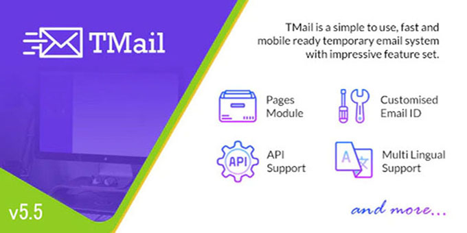 Script TMail - Multi Domain Temporary Email
