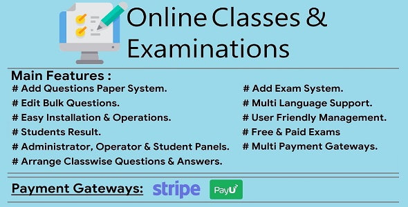Online Classes & Examinations System