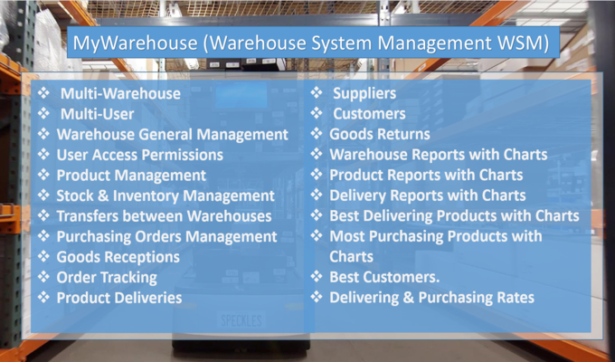Responsive Warehouse Management System PHP Script