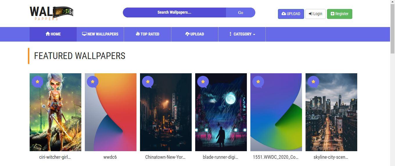 Buy Wallpaper Theme site script + Script