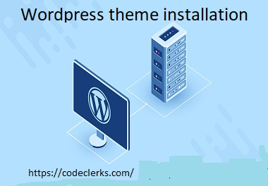 I will do themeforest wordpress theme installation,  demo setup