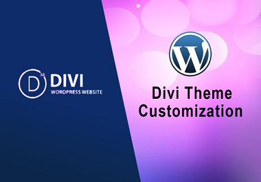 I will customize your divi theme