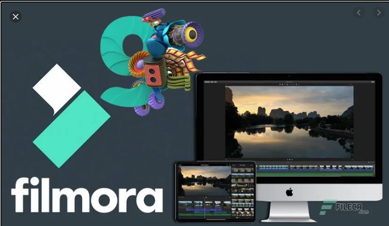 Filmora Video Editor Software With Lifetime Activation Key