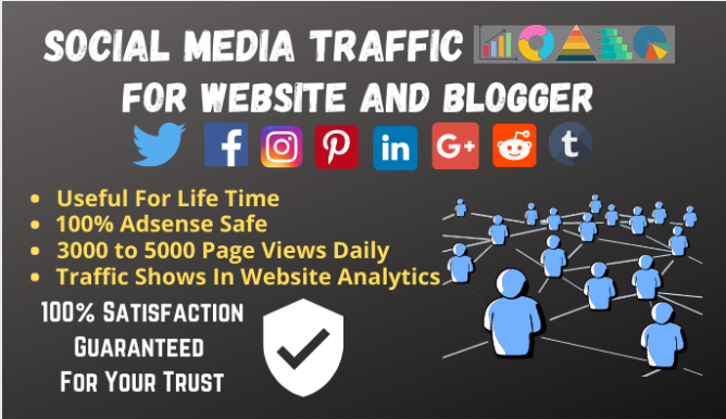 Social Media Traffic Software For Website And Blogger