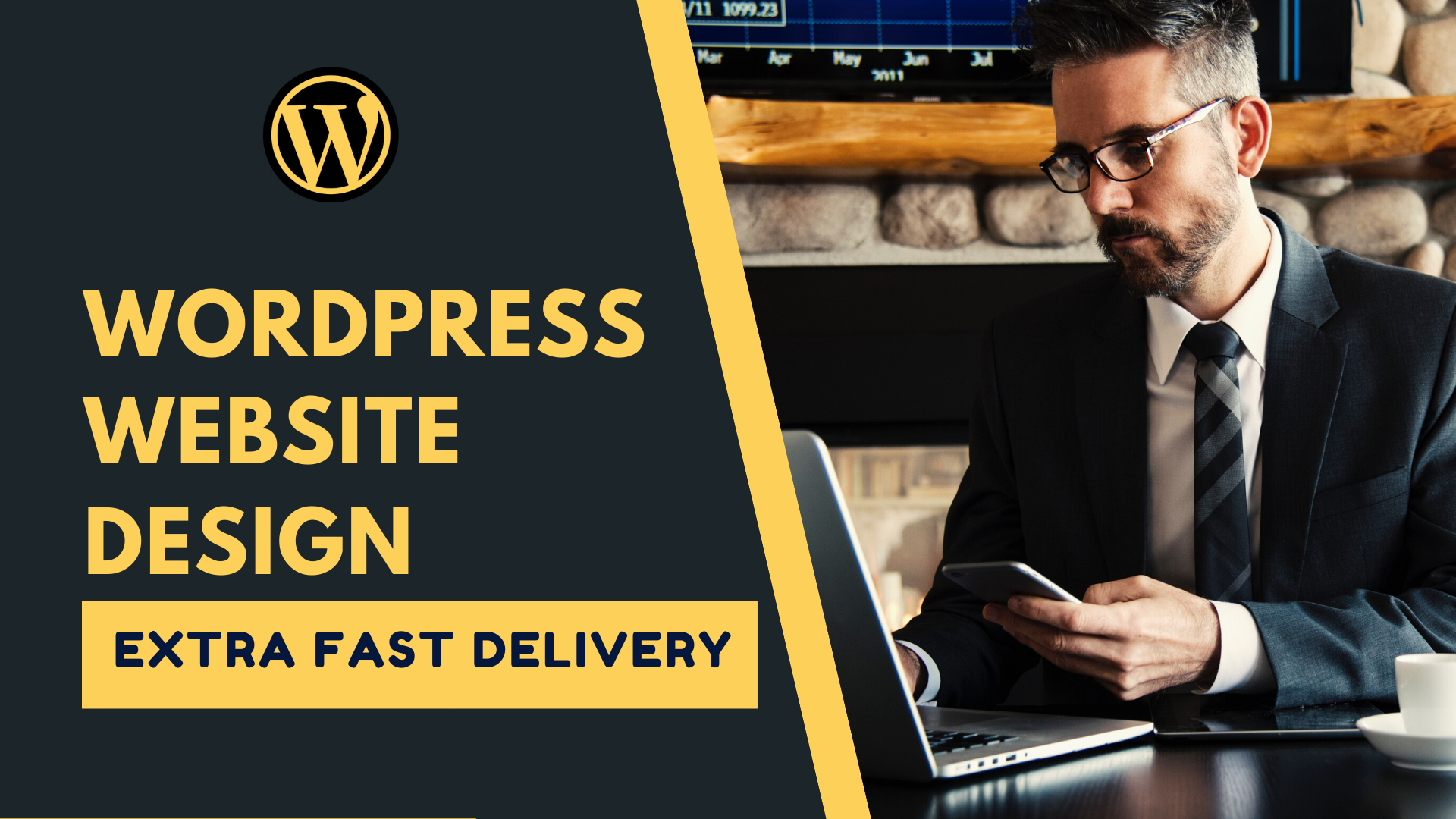 I will design professional and fully responsive wordpress website