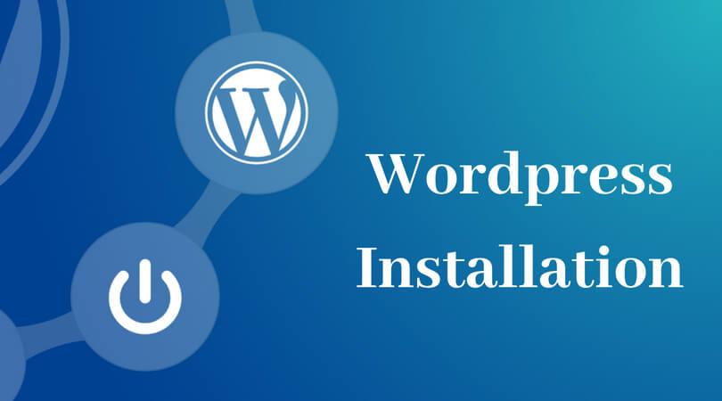 I will install WordPress, setup any theme and customization