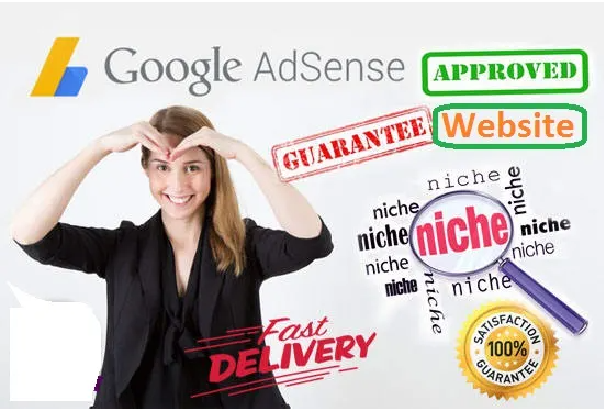 I will design complete website for google adsense approval